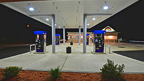 commercial construction renovations gas station ny
