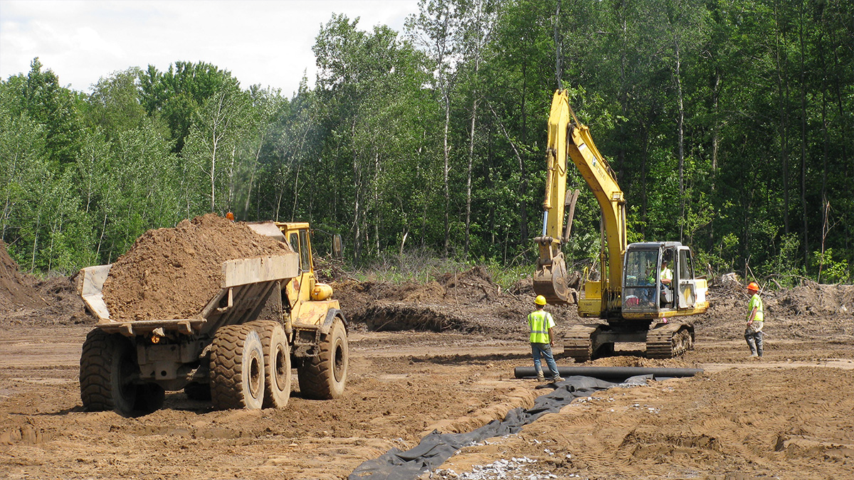 Sitework construction environmental
