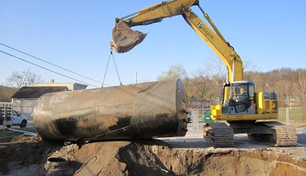 Petroleum Tank Removal & Installation