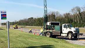 Geoprobe Drilling in New York State